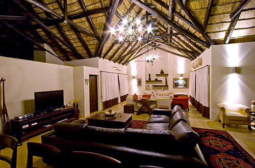 Main Lodge Lounge Black Rhino Game Lodge Pilanesberg Game Park Black Rhino Private Game Reserve