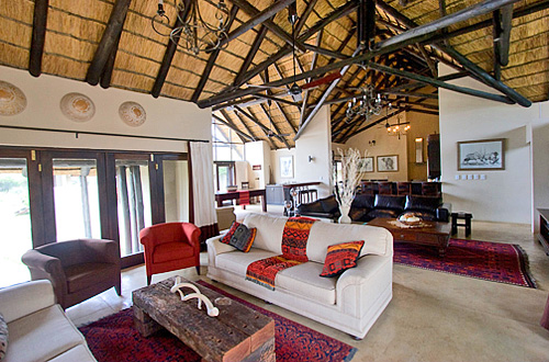 Main Lodge Lounge Black Rhino Game Lodge Accommodation Bookings Pilanesberg Game Park Black Rhino Private Game Reserve Luxury Accommodation