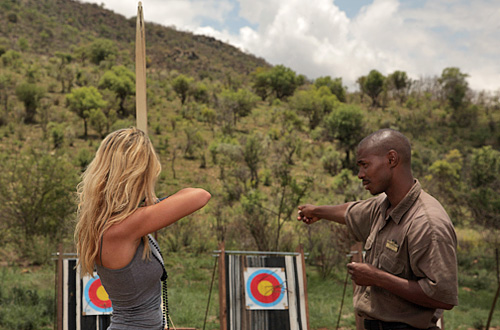 Pilanesberg Ivory Tree Game Lodge Archery activities Big 5 Pilanesberg National Park South Africa