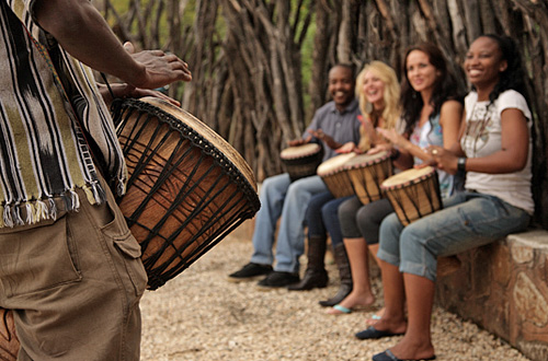 Pilanesberg Ivory Tree Game Lodge Interactive Drumming Pilanesberg National Park South Africa