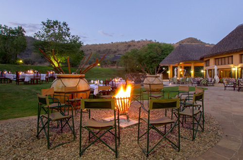 Pilanesberg Ivory Tree Game Lodge Bon Fire Malaria Free Pilanesberg National Park South Africa