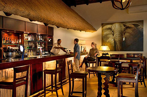 Bar Kwa Maritane Bush Lodge Pilanesberg National Park South Africa